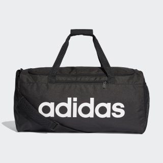 Linear Core Duffel Bag Medium Black / Black / White DT4819