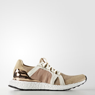 ULTRABOOST Shoes Copper Metalic / White Chalk / Cardboard AQ3797
