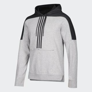 Sweat-shirt à capuche Flames Nhl-Cfl-5ae / Medium Grey Heather / Black DN5512