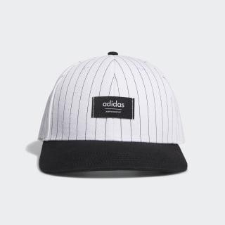 Pinstripe Hat White FQ0478