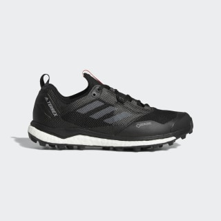 Terrex Agravic XT GORE-TEX Trail Running Shoes Core Black / Hi-Res Red / Grey Three AC7655