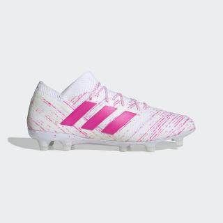 Chuteira Nemeziz 18.1 Campo Cloud White / Shock Pink / Shock Pink BB9427