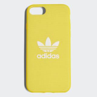 Coque emboîtable Adicolor iPhone 8 Yellow / White CJ6176