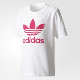 Camiseta Trifolio WHITE/SHOCK PINK S16 BR7267