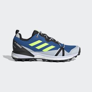 Terrex Skychaser LT GORE-TEX Hiking Shoes Glory Blue / Signal Green / Dash Grey EH2427