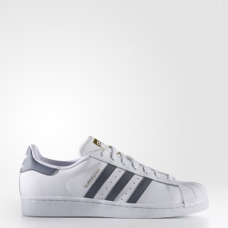 Superstar Foundation Shoes Cloud White / Onix / Gold Metallic BY3714
