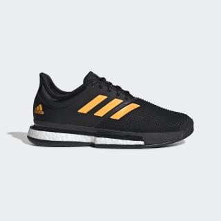 SoleCourt Shoes Core Black / Flash Orange / Carbon EF2069