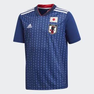 Camisa Oficial Japão 1 Infantil 2018 NIGHT BLUE F13/WHITE BR3644