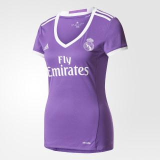 Jersey de Visitante Real Madrid 2016 RAY PURPLE/CRYSTAL WHITE AI5162
