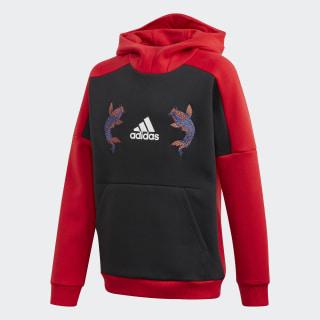 Hooded Sweatshirt Scarlet GG1025