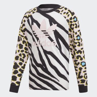 LZ Longsleeve Multicolor / Black / Clear Pink FM9990