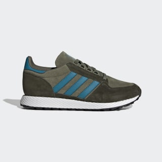Forest Grove Shoes Raw Khaki / Active Teal / Night Cargo EE8970
