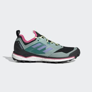 Terrex Agravic XT Trail Running Schoenen Core Black / Light Purple / Glory Green EH0078