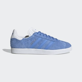 Gazelle Shoes Real Blue / Cloud White / Platinum Metallic EE5542