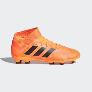 Calzado de Fútbol Nemeziz 18.3 Terreno Firme Zest / Core Black / Solar Red DB2352