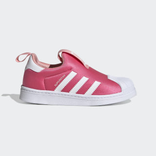 Superstar 360 Shoes Real Pink / Cloud White / Glory Pink EF6633