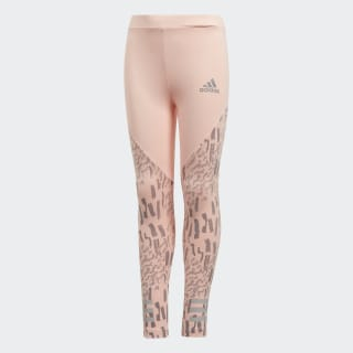 Calça Legging Training Longa HAZE CORAL/GREY THREE F17/REFLECTIVE SILVER/GREY TWO F17 DP5228