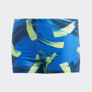 Parley Boxer-Badehose Blue DQ3379