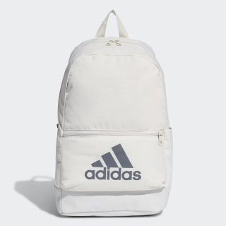 Classic Badge of Sport Backpack Raw White / Raw White / Grey Six DT2631