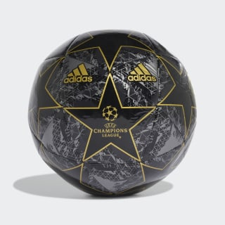 UCL Finale 19 Capitano Ball Black / Utility Black / Iron Metallic / Gold Metallic DY2554