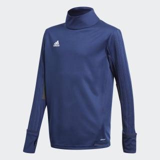 Camiseta entrenamiento Tiro 17 Dark Blue/Dark Grey/White BQ2768