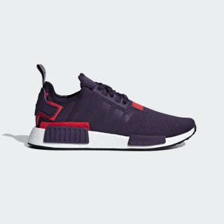 Chaussure NMD_R1 Legend Purple / Legend Purple / Shock Red BD7752