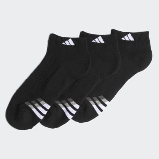 Cushioned Low Socks 3 Pairs Black / White / Light Onix H77463