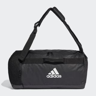 4ATHLTS ID Duffel Bag Small Black / Black / White FJ3920