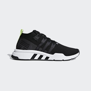 EQT Support Mid ADV Primeknit Shoes Core Black / Grey / Cloud White B37435