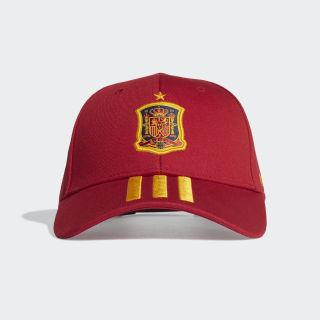 Spain Home Cap Victory Red / Semi Solar Gold / Semi Solar Gold FJ0810