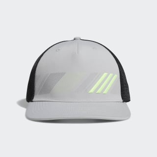 Casquette Stripe Trucker Grey Two / Hi-Res Yellow DT2197