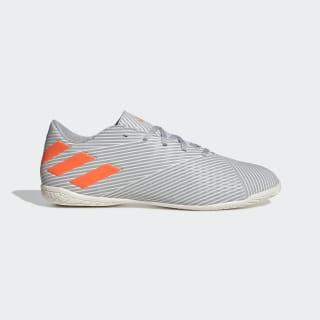 Chuteira Nemeziz 19.4 Futsal Grey Two / Solar Orange / Chalk White EF8297