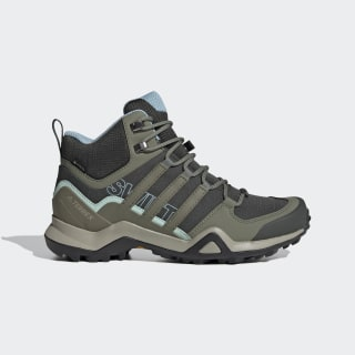 Terrex Swift R2 Mid GTX Shoes Legend Earth / Legacy Green / Ash Grey EF3358