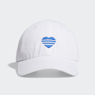 3-Stripes Heart Hat White FL5657