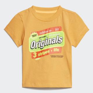 Graphic Tee Flash Orange / Multicolor ED7700