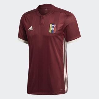 Домашняя игровая футболка сборной Венесуэлы collegiate burgundy / cream white CY5422