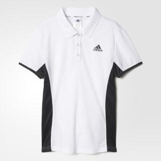 Polo de Tennis Court WHITE/BLACK AJ6067