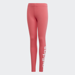 Essentials Linear Leggings Real Pink / White EH6177