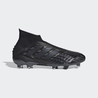 Bota de fútbol Predator 19+ césped natural seco Core Black / Core Black / Utility Black F35612