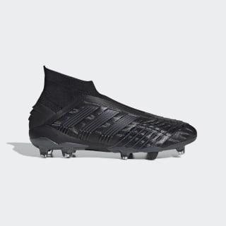 Футбольные бутсы Predator 19+ FG core black / core black / utility black F35612
