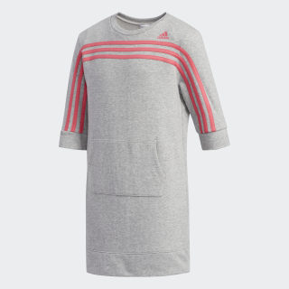 French Terry Dress Medium Grey Heather CM0939