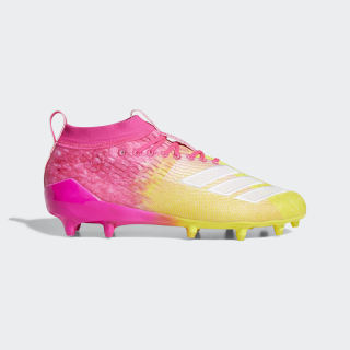 Adizero 8.0 Cleats Shock Pink / Cloud White / Yellow F35078