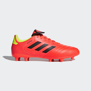 Calzado de Fútbol Copa 18.3 Terreno Firme SOLAR RED/CORE BLACK/SOLAR YELLOW DB2461