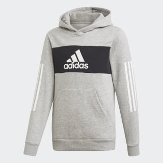 Sweat-shirt à capuche Sport ID Medium Grey Heather / Black / White ED6500