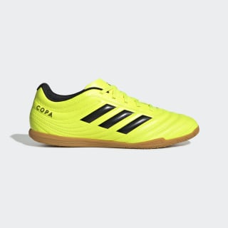 Футбольные бутсы COPA 19.4 IN solar yellow / core black / solar yellow F35487