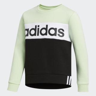Pieced Crew Pullover Sweatshirt Mint Green CM5027