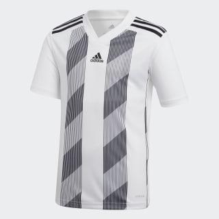 Striped 19 Voetbalshirt White / Black DU4398