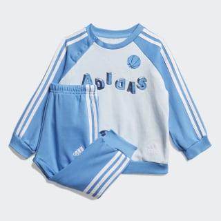 Комплект: джемпер и брюки Graphic Sky Tint / Lucky Blue / White FM6369