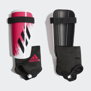 X 20 Match Shin Guards White / Black / Shock Pink FS6598