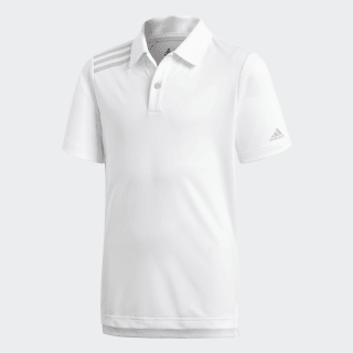 Playera Polo 3 Franjas Tournament White CE3161